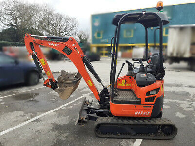 Kubota U17-3α Digger with 3 Buckets - Excavator / Construction Digger