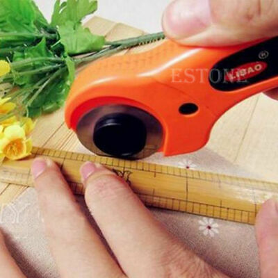 45mm Rotary Cutter Premium Quilters Quilting Sewing Fabric Cutting Craft Tool H
