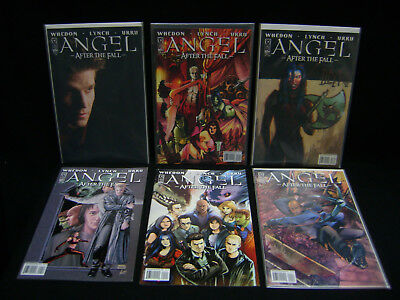 ANGEL, AFTER THE FALL issues 1-6.Joss Whedon.IDW. Buffy The Vampire Slayer