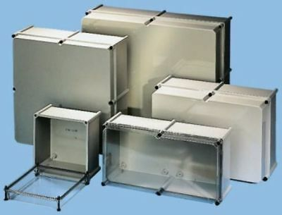 SCHNEIDER Large Polyester Enclosure IP65 Clear Outdoor Enclosure Box 360x720x230