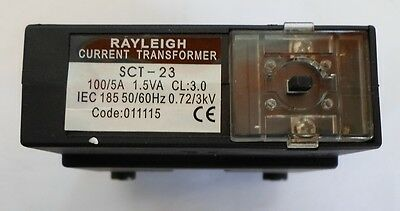 Rayleigh Current Transformers Type SCT-23 100/5a 1.5VA Black