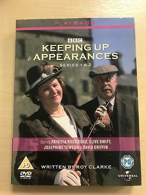 Keeping Up Appearances - Series 1 & 2 DVD Boxset