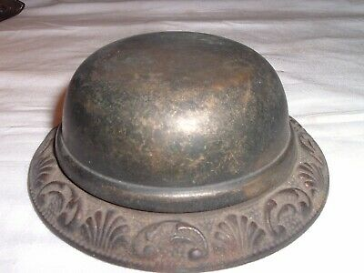 Antique 19th Century Victorian Cast Iron and Brass Door Bell