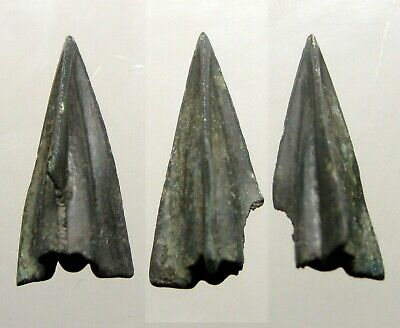 ONE NICE ANCIENT SCYTHIAN ARROWHEAD____BC Era____Uncleaned____LOWER UKRAINE