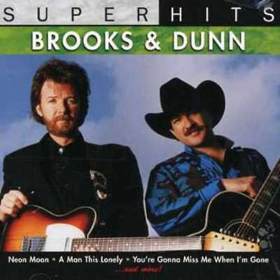 Brooks & Dunn Super Hits 2007 New CD Sealed in Plastic FREE SHIPPING