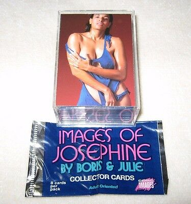 Images of Josephine by Boris & Julie 72 Collector Card Set Near Mint-Mint
