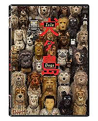 Isle of Dogs DVD - DISC ONLY