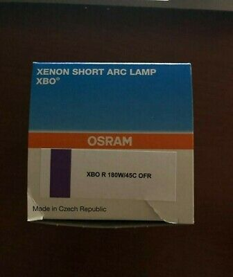 Osram XBO R 180W / 45C OFR 500Horas. (CarlZeiss S88/ DYONICS 420XL/ LINVATEC3140