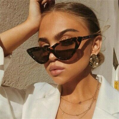 Fashion Vintage Cat Eye Sunglasses Women Sexy Outdoor Beach Shade Glasses UV400