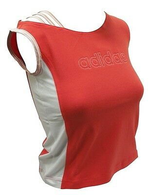 adidas Ladies's Girls Sports T-Shirt Vest Top 3 Strap to shoulder
