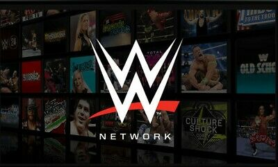 WWE Network Premium Account ⭐ 2 WHOLE YEAR WARRANTY⭐ FAST DELIVERY