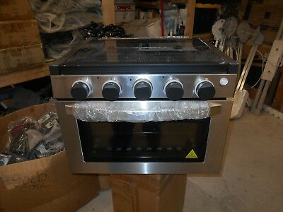17 Amp Furrion Rv Range Oven Fsre17sa Bl Stove Lp Gas W