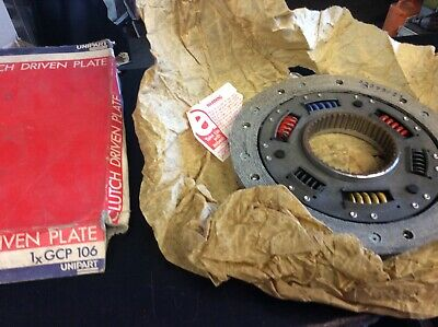 New Quality Old Stock Unipart Clutch Plate Gcp106 Austin Maxi & Allegro 1500
