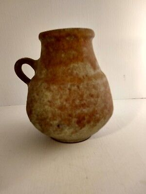 West German Vase Hoy Heyne Hartwig Fat Lava Studio Vtg Retro 60s 70s Ceramic