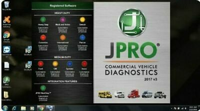 Noregon JPRO Commercial Fleet Diagnostic 2017v3 + Keymaker to install on many PC