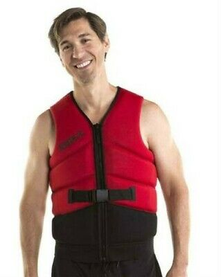 Gilet Jetski Slitta Uomo - Jobe Unify Vest Men Red - L