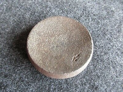 Native American Discoidal, American Indian Game Stone,    #Day-02118