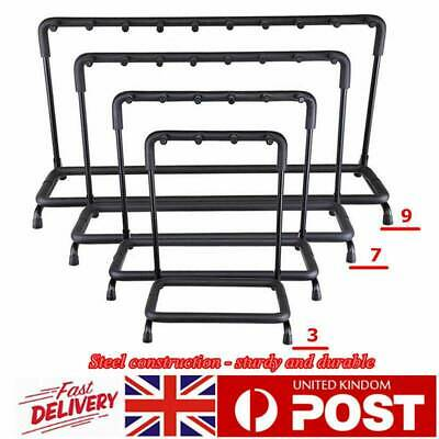 Guitar Stand 3 7 9 Holder Guitar Folding Rack Stand Stage Bass Acoustic GuitarUK