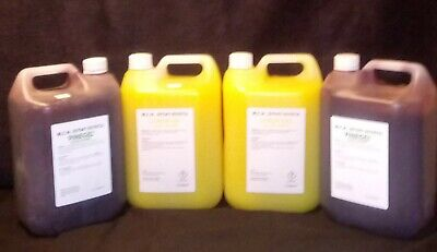 2X5Litre Lemon Floor Gel And 2X5Litre Pine Floor Gel
