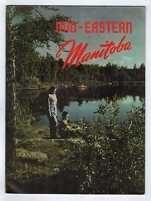 1950s MID EASTERN MANITOBA Magazine CANADA Winnipeg RED RIVER HIGHWAY Tyndall