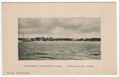 Buzzards Bay Massachusetts Pc Tarjeta Postal Casas Rurales en Nemaskett Parque