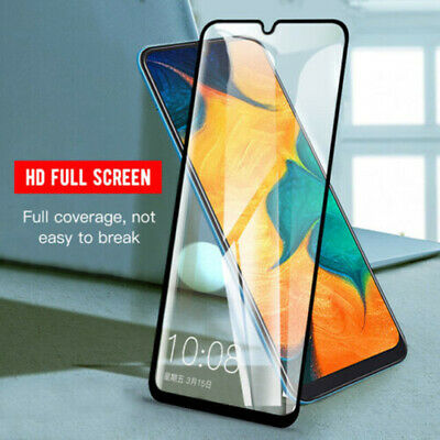For Samsung Galaxy A70 A50 A40 9H Full Coverage Tempered Glass Screen Protector