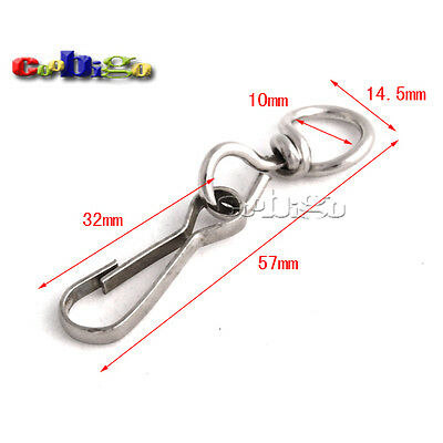 Metal Swivel Snap Hooks Paracord Lanyards Keychain KeyRing Carrying Bags Luggage