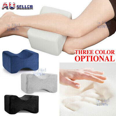2019 Memory Foam Leg Pillow Cushion Knee Support Pain Relief Washable Cover NEW