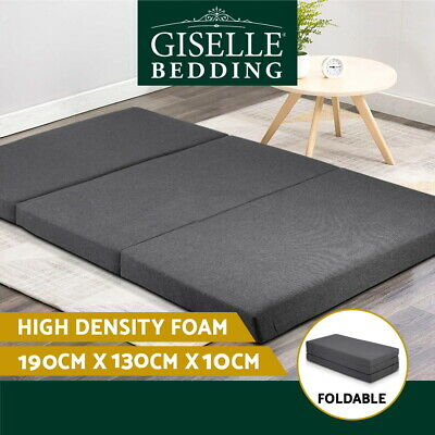 20%OFF Giselle Double Folding Mattress Foam Portable Sofa Bed Mat Lounge