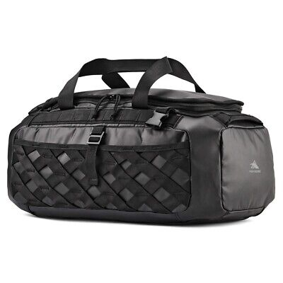 High Sierra OTC Convertible Duffel Backpack, Black