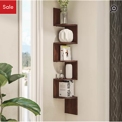 Ridgeway Corner Wall Shelf by Wade Logan