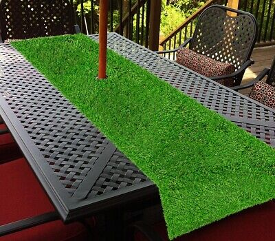 Artificial Grass Table Runner Large 25cm x 2m Indoor/Outdoor Table Decoration