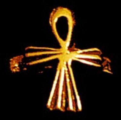 COOL Brand New 24k yellow Gold Plated Ankh Egyptian Ring Jewelry egypt