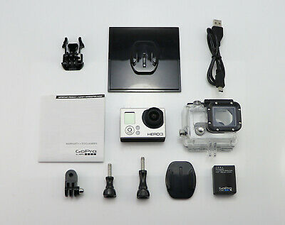 Gopro Hero 3 Silver Edition Sports Action Camcorder Sdhc Card Digital 1080P Hd