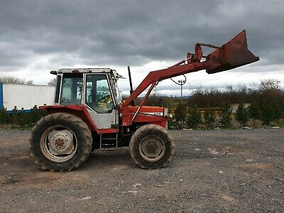Massey 675 tractor  4wd with loader delivery arranged road registered