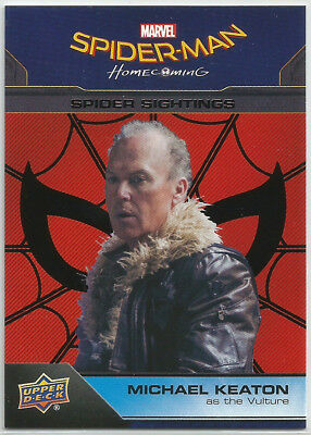 Marvel Spider-Man Homecoming ~ Negro Base Parallel Card #100 el Buitre (#45/49)