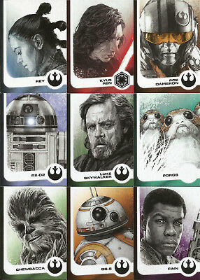 Star Wars Journey To The Last Jedi ~ Mini-Master Juego (Base + 4 Insert Sets)