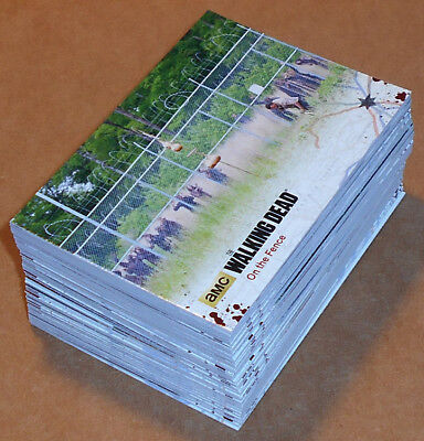 Walking Dead Temporada 4 Part 2 ~ Completo 72-card Base Juego