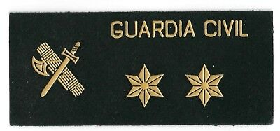parche obsoleto GUARDIA CIVIL TENIENTE POLICIA  ,spain patch