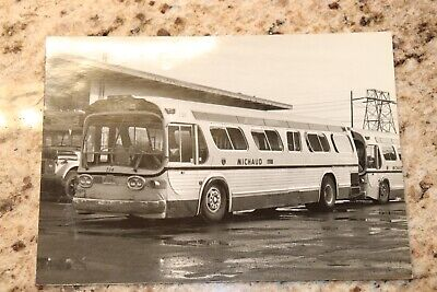 10 black and white vintage bus photographs