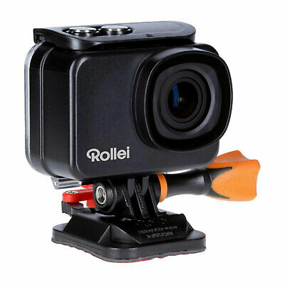 Rollei Actioncam 560 Touch Actionkamera Camcorder 4K 60 FPS WiFi Weitwinkel