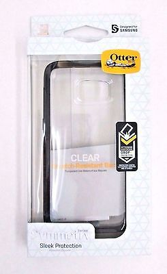 OtterBox SYMMETRY Hard Snap Cover Case for Samsung Galaxy S7 Black/Crystal Clear