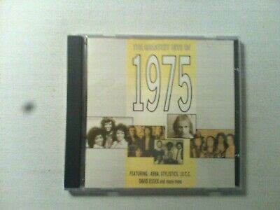 THE GREATEST HITS OF 1975 Cd 10CC QUEEN ABBA SLADE BEE GEES LABELLE LEO SAYER