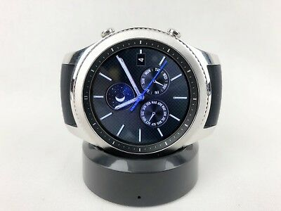 Samsung Galaxy Gear S3 Classic Stainless Steel Case Silver smart watch