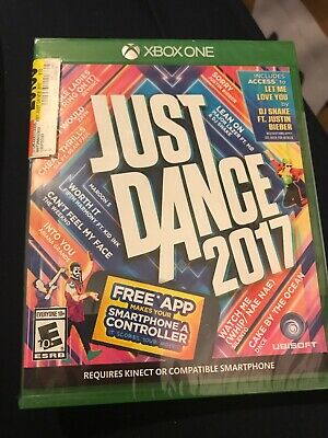 Aa- Just Dance 2017 (Microsoft Xbox One, 2016) Ubisoft, Brand New Factory Sealed