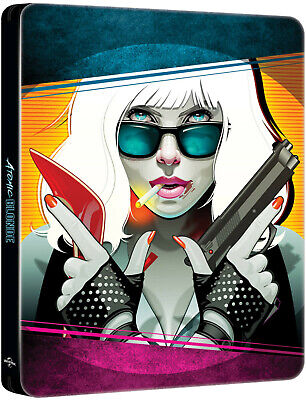 Atomic Blonde 4K - Exclusive Limited Steelbook (4K UHD+Blu-ray) + 4K IN DEUTSCH