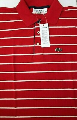 555a31c37 EXCLUSIVE Lacoste Men Shirt Size FR 7 US X-Large Made in Peru Designed in