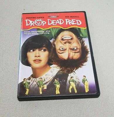 2003 DVD * DROP DEAD FRED * Phoebe Cates Rik Mayall Carrie Fisher