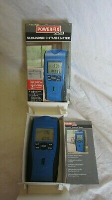 Powerfix UltraSonic Distance Meter in Original Box + Manual