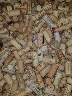 Lot of 100 Used Wine Corks Arts /& Crafts Free Shipping